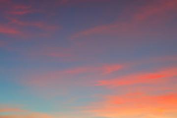 beautiful twilight sky background Fototapete
