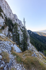 Fototapete - Piatra Craiului Mountains, Romania