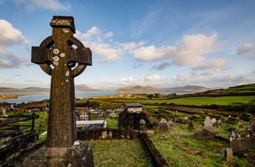 Graveyard of Valentia Island, Ireland