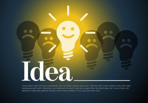Idea Concept Illustration Layout