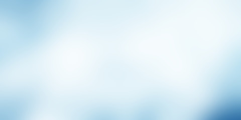 Fotobehang - light blue gradient background / blue radial gradient effect wallpaper