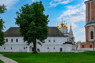 Ryazan Kremlin, side view, Ryazan, Russia