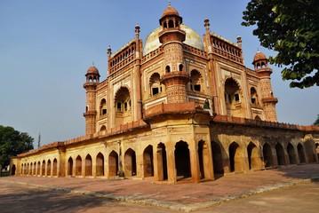 Autocollant pour porte Delhi The beautiful historical tomb at new Delhi