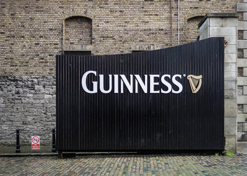 Guinness brewery in Dublin, Republic of Ireland