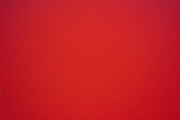 Türaufkleber Rot kubanischen Red water background. Lake turned pink by algae in Western Australia. Abstract background photo