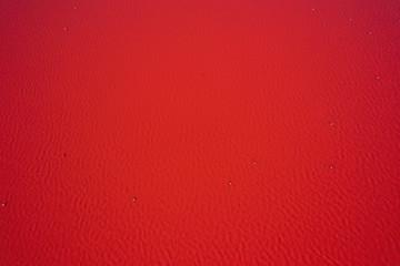 Fototapeten Rot kubanischen Red water background. Lake turned pink by algae in Western Australia. Abstract background photo