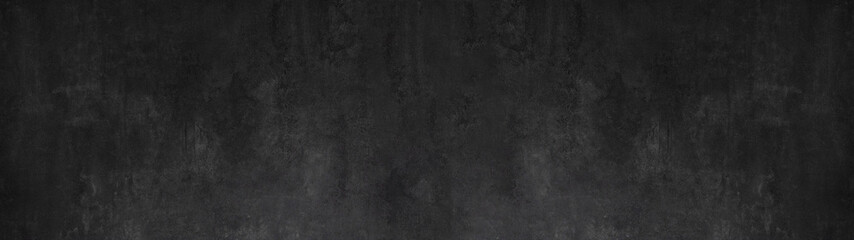 black stone concrete texture background anthracite panorama banner long Fototapete