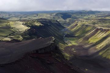 Eldjá, volcanic crack