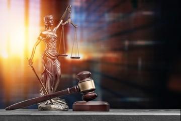 Attorney balance advocate antique beautiful blind blindfold - fototapety na wymiar