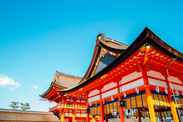 Garden Poster Kyoto Fushimi Inari shrine in Kyoto, Japan