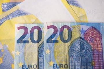 Euroscheine zum Jahr 2020