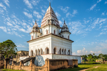 View at the Siva Temple building in Puthia - Bangladesh