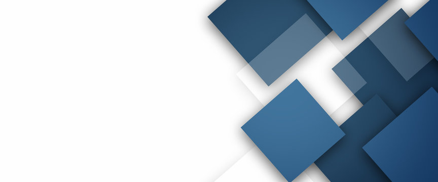 Abstract Blue Squares design background