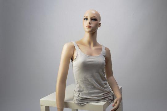 Schaufensterpuppe Schneiderpuppe Puppe Schaufenster deko warne präsentation female frau
