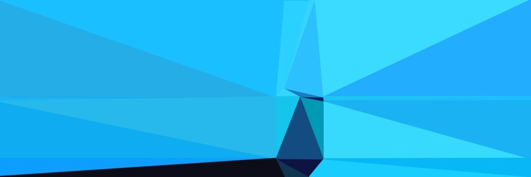 abstract horizontal background with geometric triangles