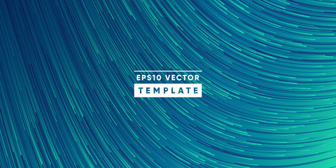 Abstract background design. Wavy lines in perspective. Technology, Big data, science, future style design. Eps10 vector. Fototapete