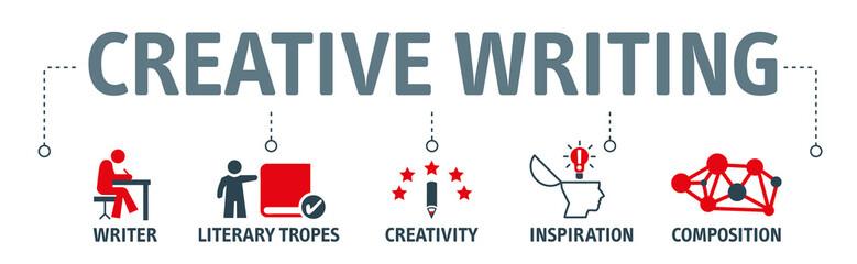 creative writing vector illustration concept