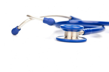 stethoscope of a doctor in the hospital