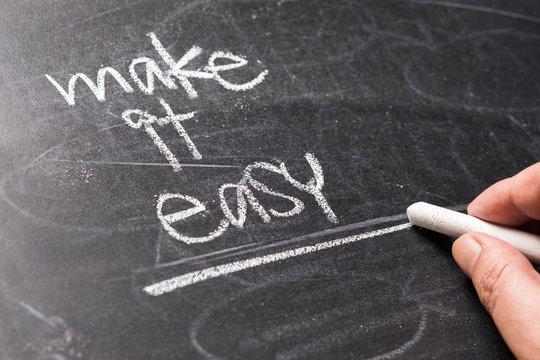 Make It Easy on Blackboard