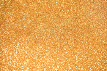 Gold Glitter background. New Year,  Holiday, Christmas, Valentines, Beauty and Nails abstract...