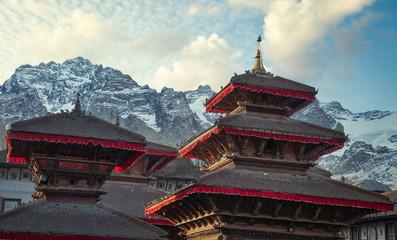 ancient Nepali city of Himalayas.