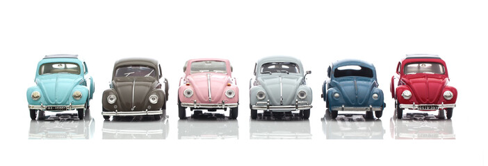 Old VW Bettle Cars