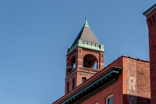 Bell Tower in Downtown Lowell, MA