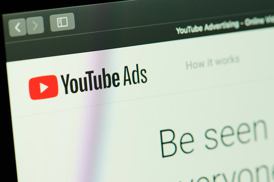 Youtube ads service