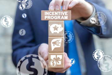 Incentive Loyalty Program Internet Marketing Business Concept.