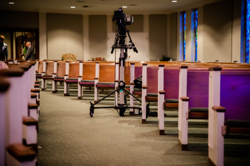 Technology in the Church empty pews