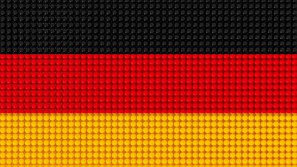 3D Spheres Deutschland Flag
