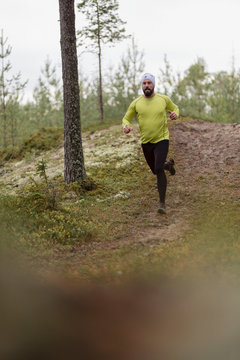 running training in forests