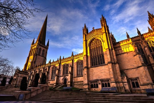 Wakefield Cathedral, West Yorkshire, Great Britain.