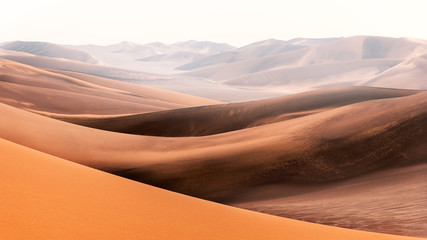 Photo sur Aluminium Orange eclat the shape of sands in lut desert