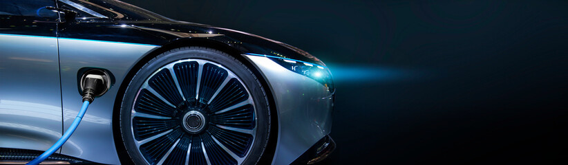 luxury electric concept car