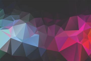Obraz Abstract Geometric backgrounds full Color - fototapety do salonu