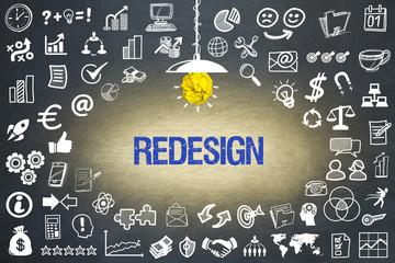Obraz Redesign - fototapety do salonu