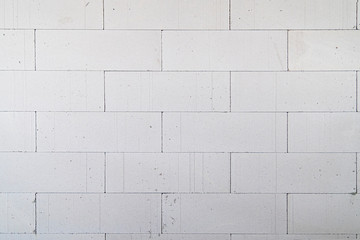 Interior pictures of buildings being constructed with autoclaved aerated bricks.