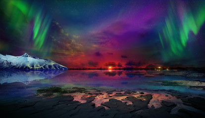Night Northern Lights is just an amazing sight.