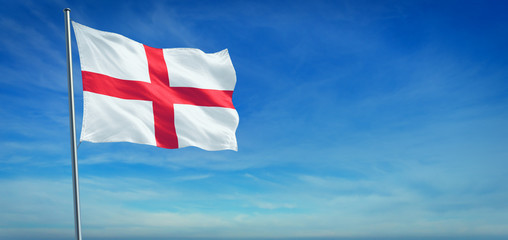 The National flag of England Fotomurales