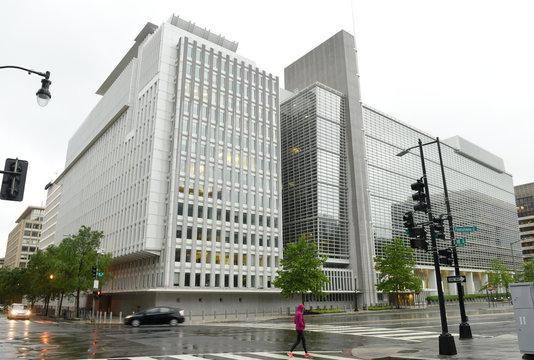 Washington, DC - June 04, 2018: The World Bank main Building in Washington.