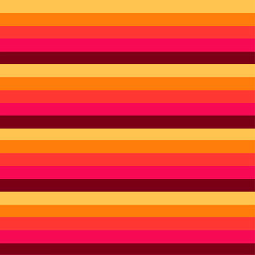 abstract 70s retro stripe orange and yellow vintage seamless pattern vector