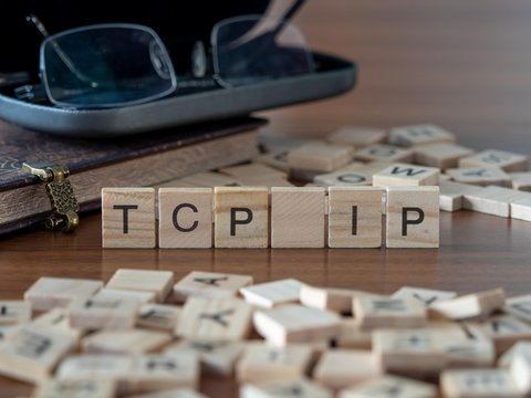 tcp ip the word or concept represented by wooden letter tiles