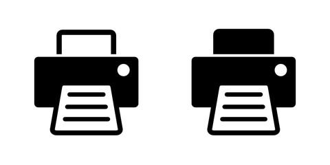 Fototapeta drukarka ikona obraz