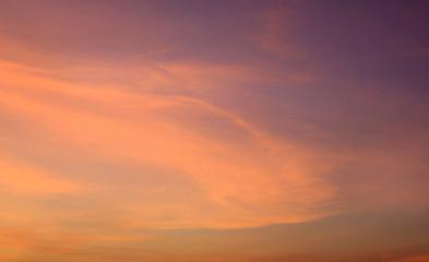 Türaufkleber Koralle Abstract orange sunset sky background.
