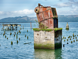 Ruins On The Columbia River