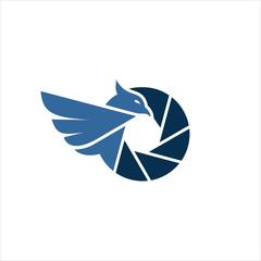bird picture icon logo vector image