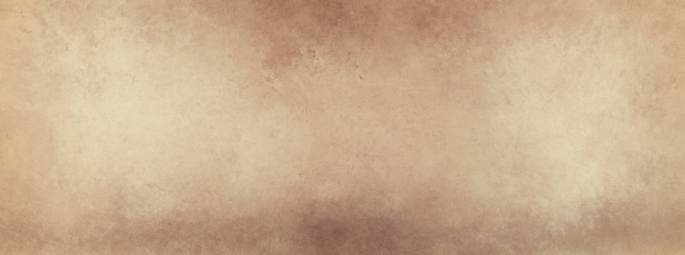 brown background paper, old grunge border design with coffee color vintage marbled texture