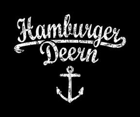 Hamburger Deern (Vintage Weiß)