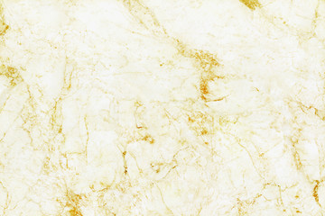 Gold white marble texture background with high resolution, top view of natural tiles stone floor in seamless glitter pattern. Fototapete